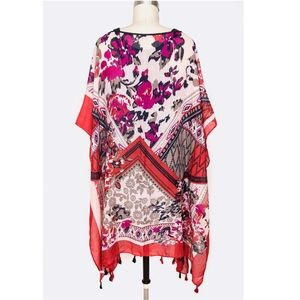 Sweaters - FIRM! Just In! Floral Kimono Cardigan